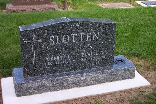 Slotten, Forrest L. & Elaine C.